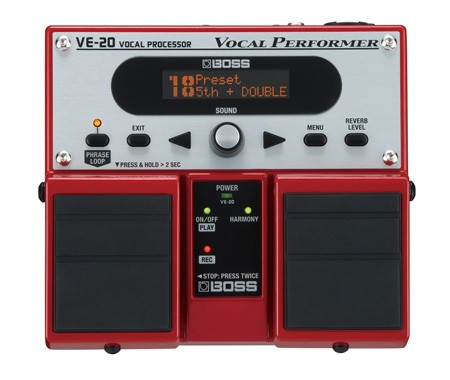 Boss - VE20 Vocal Processor