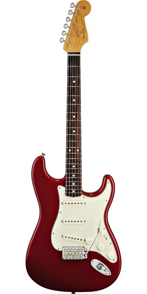 Fender - Classic - '60s Stratocaster Candy Apple Red Rosewood