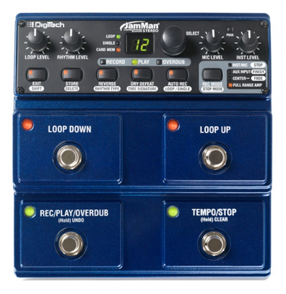 Digitech - JamMan Stereo - stereo looping station