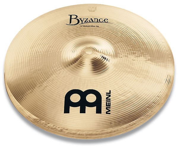 "Meinl - Byzance - Brilliant Medium Hihats 13"" B13MH-B"