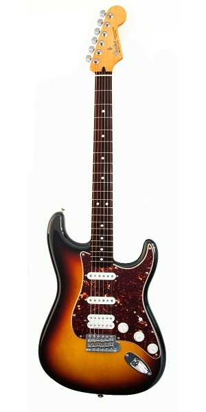 Fender - Mexican Deluxe - Lone Star Stratocaster Brown Sunburst Rosewood