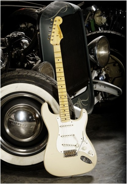 Fender - Custom Shop Time Machine - '56 Stratocaster Relic Desert Sand Acero