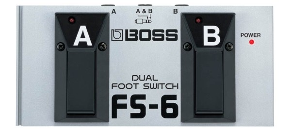 Boss - FS6 Dual Footswitch