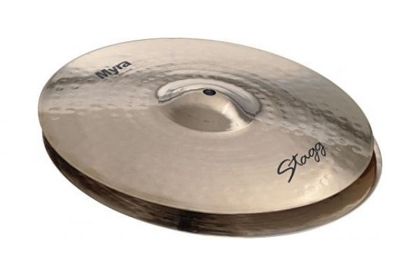 "Stagg - Brilliant Rock HiHat 14"" Myra series"
