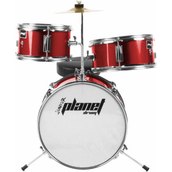 Planet Drum - Junior - DBJ3062 - Metallic Red
