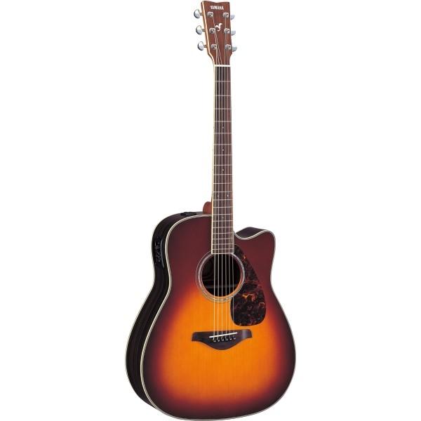 Yamaha - FG - [FGX730SC BS] Chitarra elettroacustica Brown Sunburst