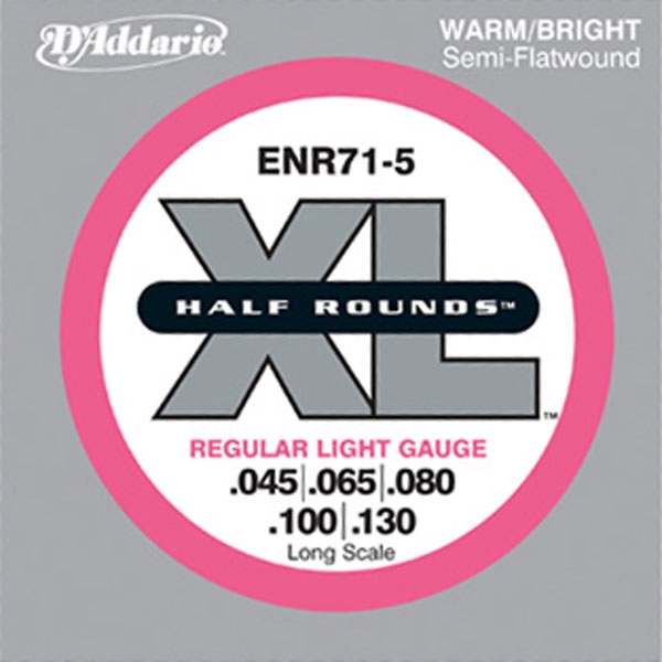 D'Addario - ENR71-5 Long Scale 5-Strings 45-130