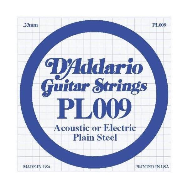 D'Addario - LP009 Electric/Acoustic Plain Steel Strings
