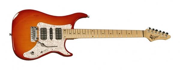 Vigier Guitars - Excalibur Supra HSH vibrato Pearl Maple