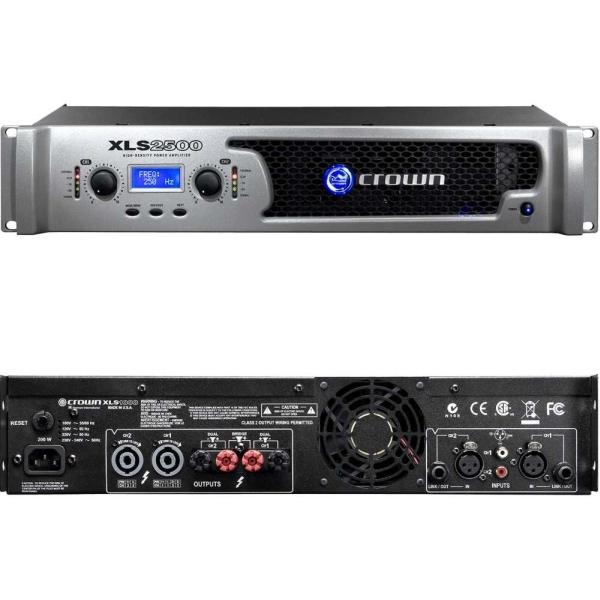 Crown - XLS - [XLS2500] Amplificatore di potenza 2X775W