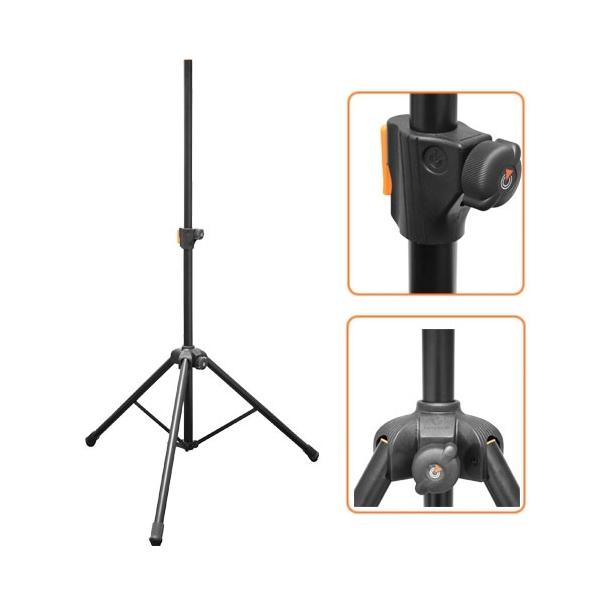 Bespeco - Metal - [PN90XLNO] Supporto per diffusori