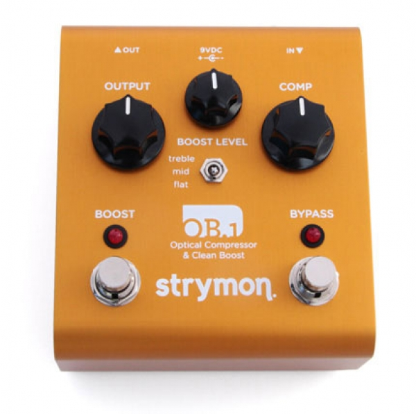 Strymon - OB.1 Optical Compressor e Clean Boost