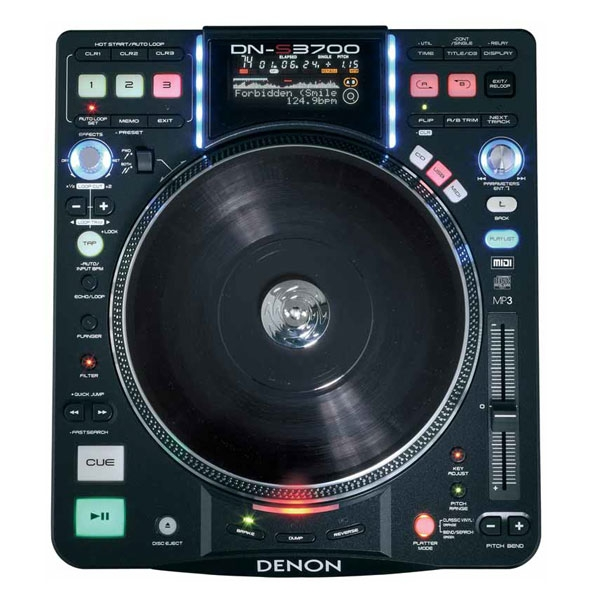 Denon - DN-S3700 Media player e lettore CD con Scratch Control