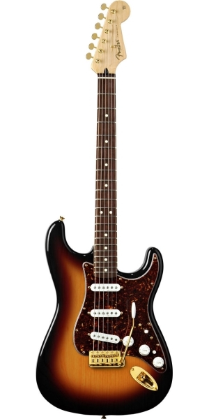 Fender - Mexican Deluxe - Players Strat 3-Color Sunburst Rosewood