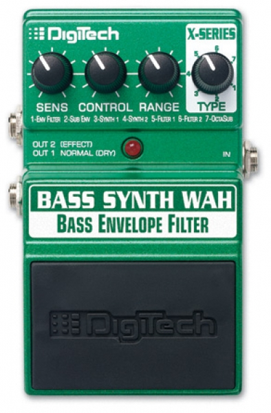 Digitech - Bass Synth Wah - wah