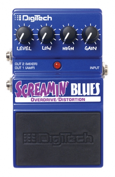 Digitech - Screamin' Blues - overdrive / distortion