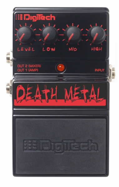 Digitech - Death Metal - metal distortion