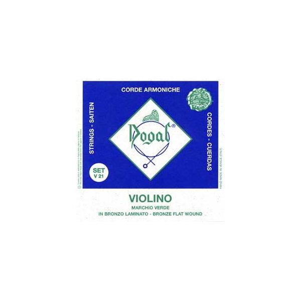 Dogal - Marchio Verde - V21a1 Corda per violino 1/2-1/4 - Mi