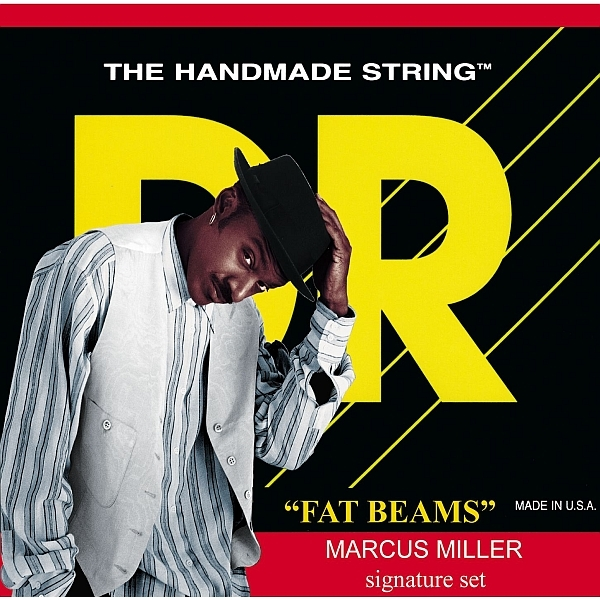 Dr Strings - Fat-Beams - [MM-40] Marcus Miller Signature Muta per basso 4 corde
