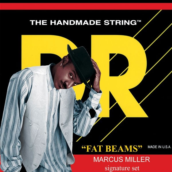 Dr Strings - Fat-Beams - [MM5-130] Marcus Miller Signature Muta per basso 5 corde Medium .045-.130