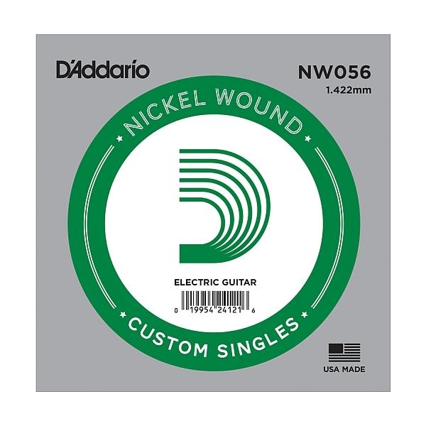D'Addario - XL Nickel Round Wound - NW056 Corda Singola .056