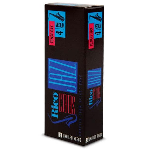 Rico - Select Jazz - RRS05TSX4M Unfiled Sax Tenore 4m - 5un