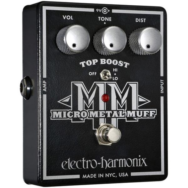 Electro Harmonix - Micro Metal Muff - Distorsore con Top Boost