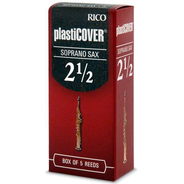 Rico - Plasticover - RRP05SSX250 Sax Soprano 2.5 - 5un