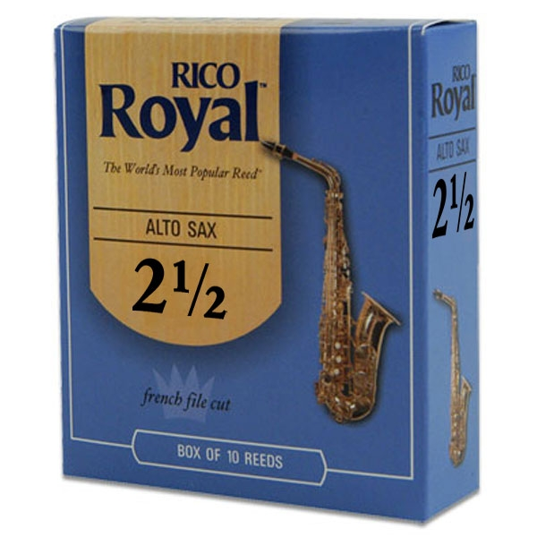 Rico - Royal - RJB1025 Sax Alto 2.5 - 10un