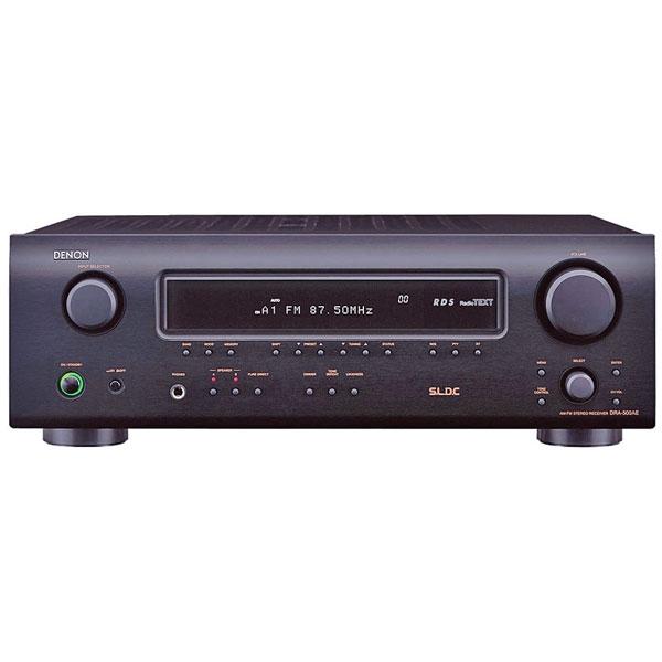 Denon - [DRA-500AE] Sintoamplificatore stereo nero