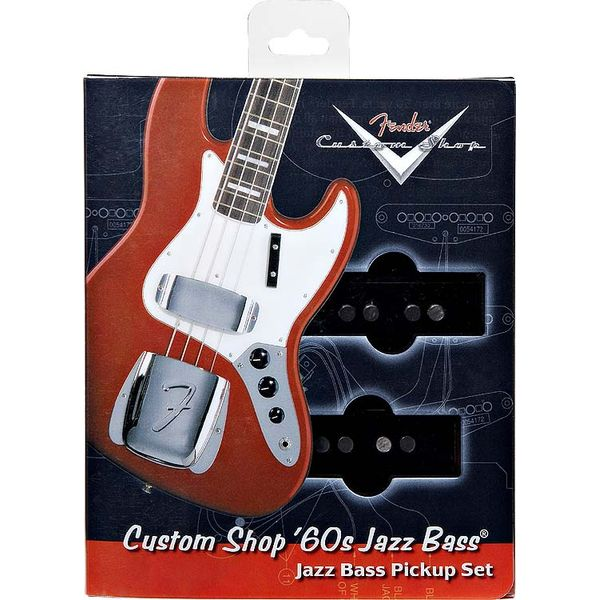 Fender - Custom '60s jazz bass® pickups (set of 2)