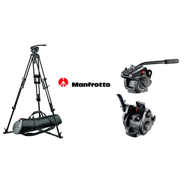 Manfrotto - KIT 501+ TREPP.525 MVB+MBAG90P
