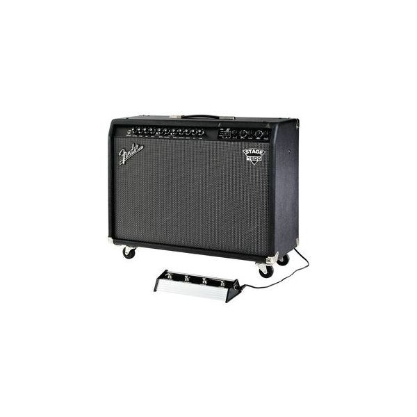 Fender - Dyna Touch 3 - Fender dyna-touch iii stage 1600 guitar combo amp