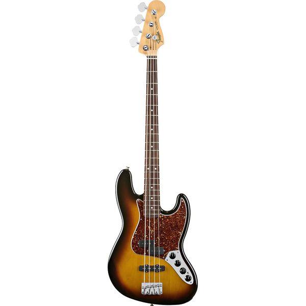 Fender - Artist - Reggie Hamilton Standard Jazz Bass 3-Color Sunburst Rosewood