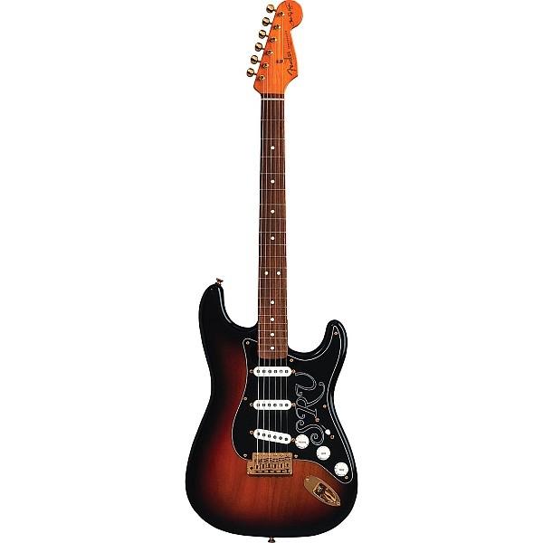 Fender - Artist - Stevie Ray Vaughan Stratocaster 3-Color Sunburst Pau Ferro