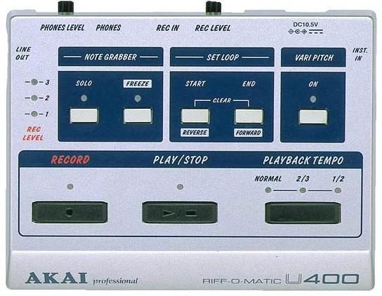 Akai - U-400 Riff-o-Matic