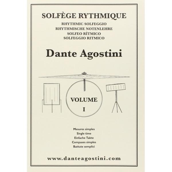 Dante Agostini - Dante Agostini - Solfeggio Ritmico - Volume 1 (9790707005118)
