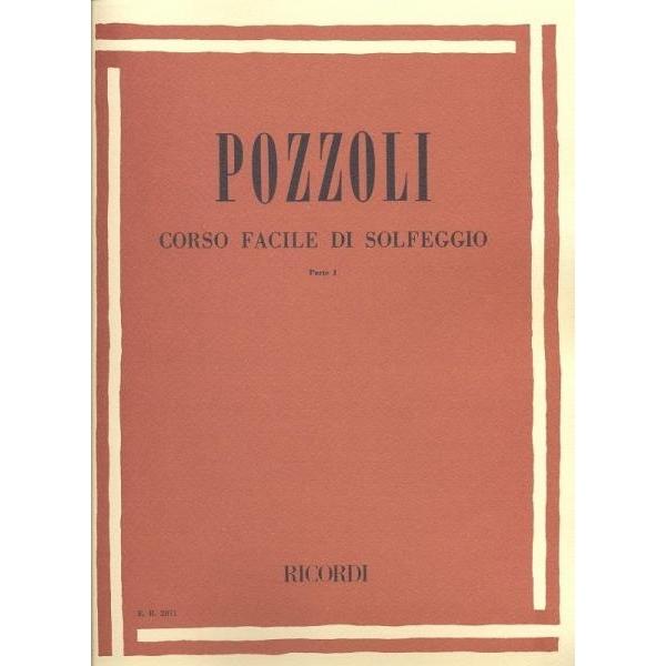 Ricordi - [ER2071] Pozzoli - Corso Facile di Solfeggio, parte 1 (9790041820712)