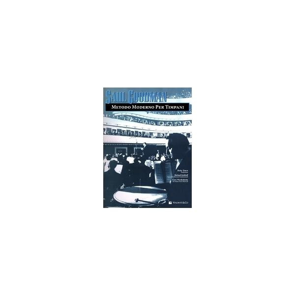 Volontè - [MB273] Saul Goodman - Metodo Moderno per Timpani (9788863882674)