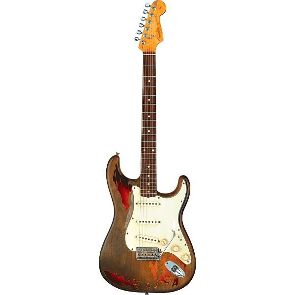 Fender - Custom Shop Tribute - Rory Gallagher Tribute Stratocaster 3-color Sunburst Rosewood