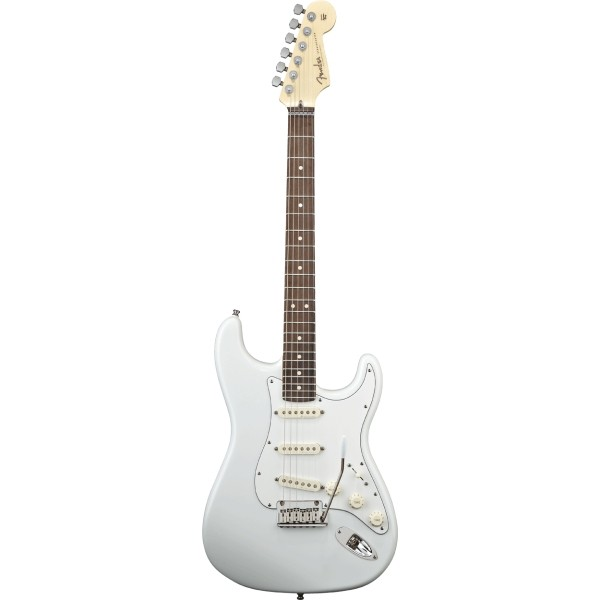 Fender - Custom Shop Artist - Jeff Beck Signature Stratocaster Olympic White Rosewood