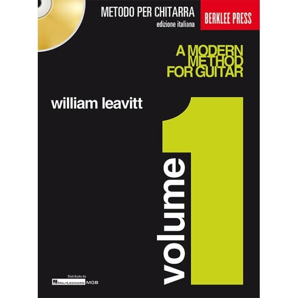 Curci Edizioni - [HMGB 11] William Leavitt - A Modern Method For Guitar, Volume 1 (9790705063103)