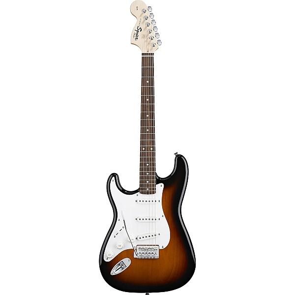 Fender - Squier Affinity - Strat Left Handed Brown Sunburst Rosewood