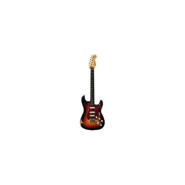 Fender - Custom Shop Limited Edition - John Cruz Select '61 Stratocaster Relic 3 Color Sunburst