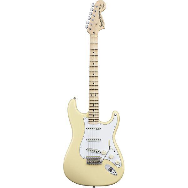 Fender - Artist - Yngwie Malmsteen Stratocaster Vintage White Scalloped Maple