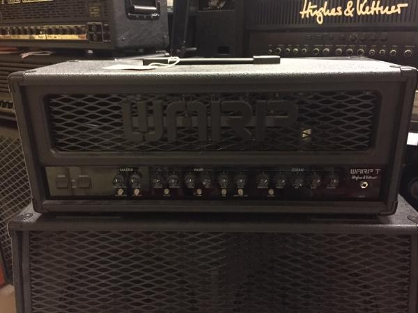Hughes & Kettner - Warp X Testata per chitarra valvolare