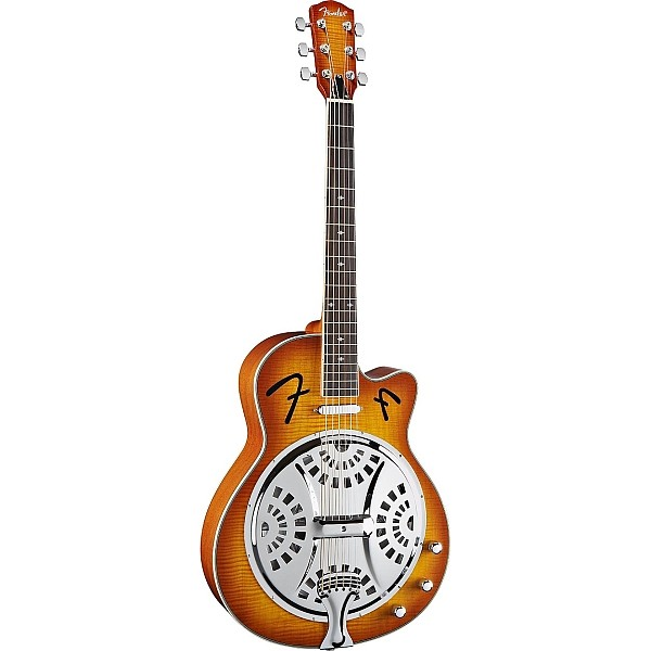 Fender - FR50CE Chitarra Resonator Sunburst