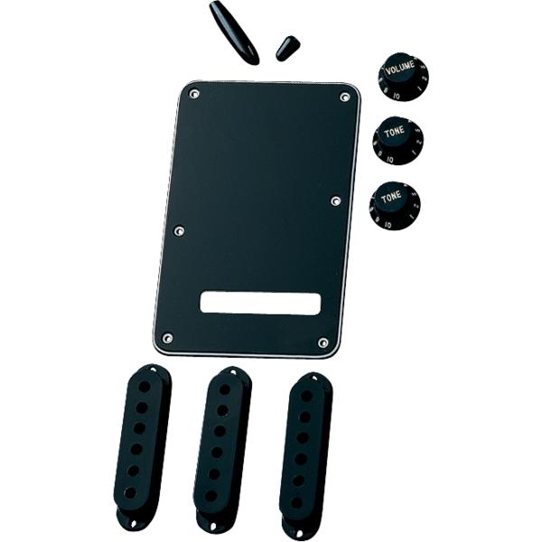 Fender - Kit Accessori Stratocaster, nero