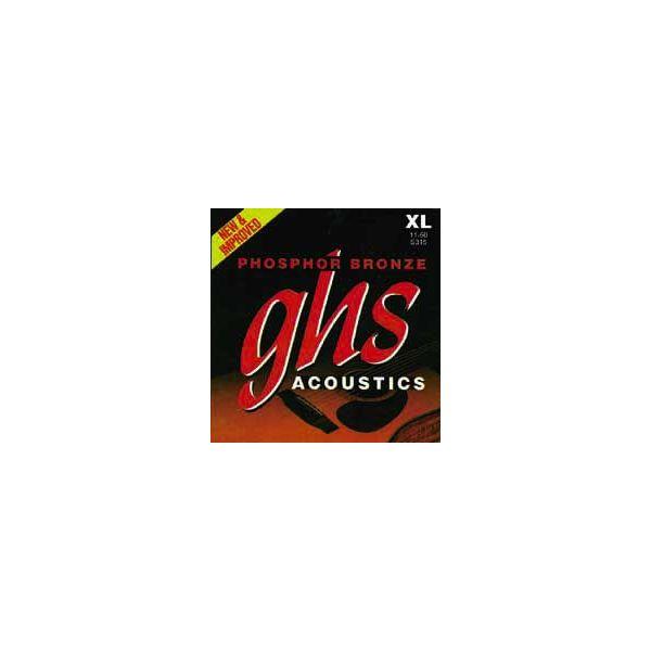 Ghs - Phosphor Bronze - S3215 muta per acustica, extra light