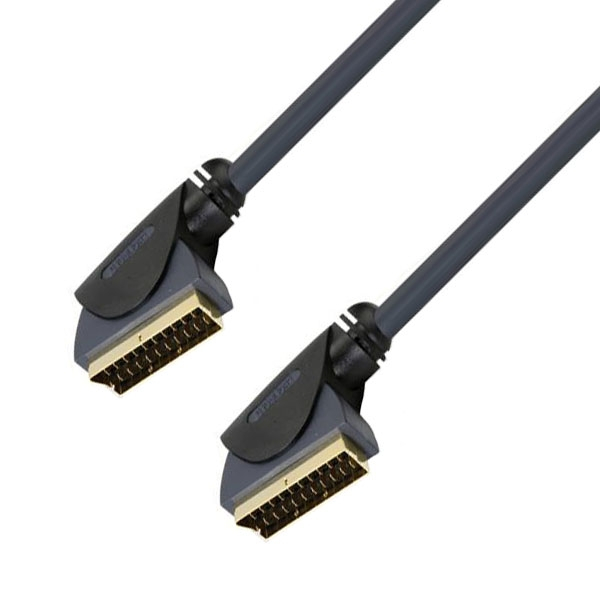 Profigold - Cavo video scart M > scart M 1,5mt [PGV7392]
